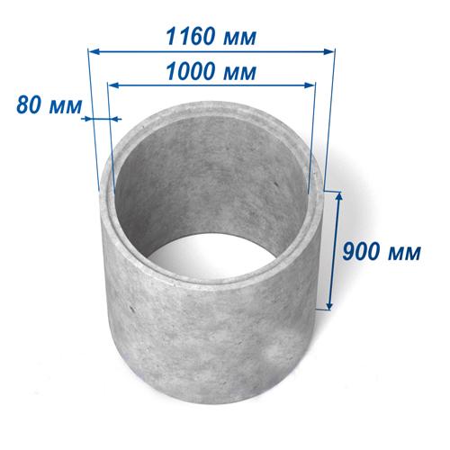 Кольцо КС-10-9